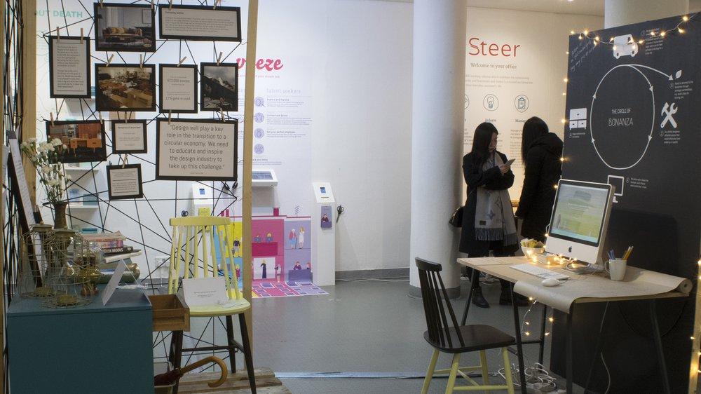 School of Design Work-in-progress Show: Bonanza (Service Design)
