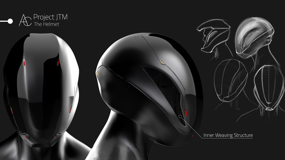 Project JTM : The helmet