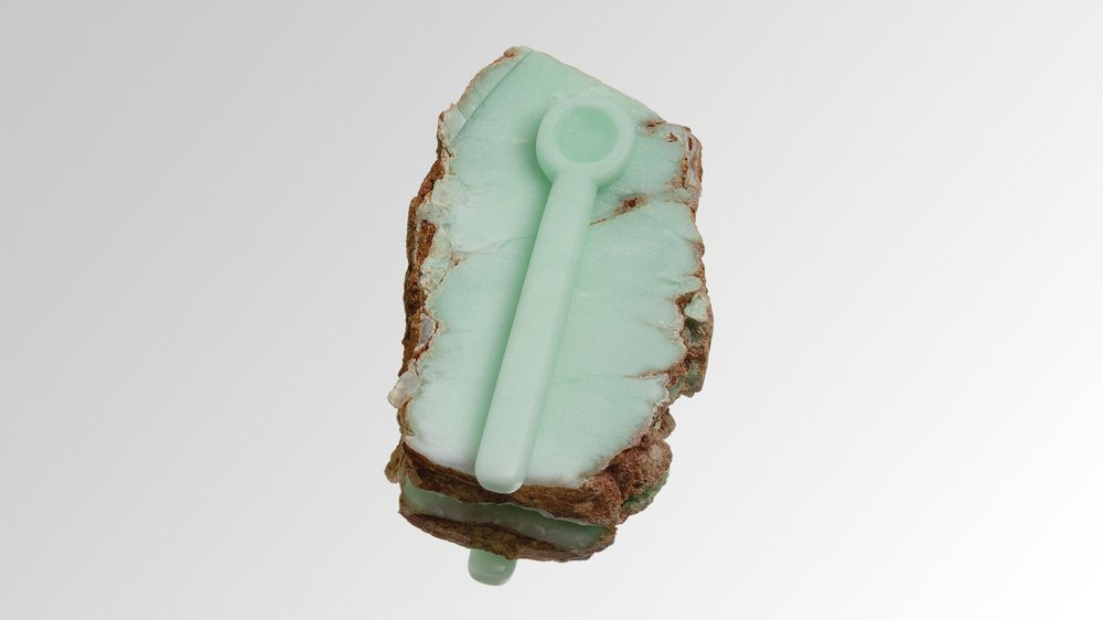 spoon and rock