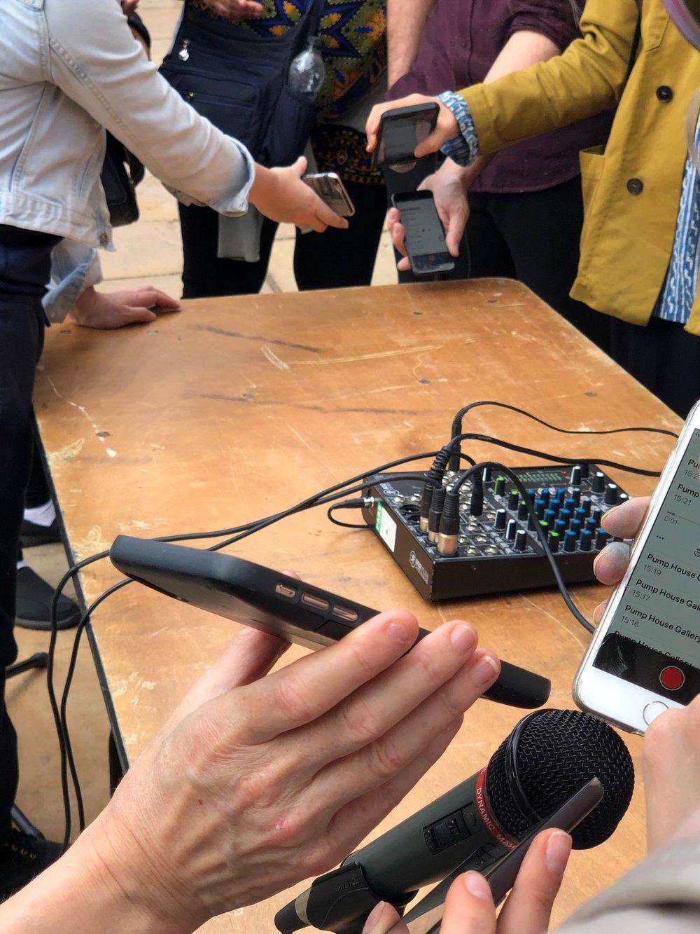 Sound Workshop with Artist Andrew Hart