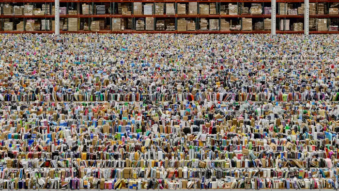 Andreas Gursky, Amazon, 2016