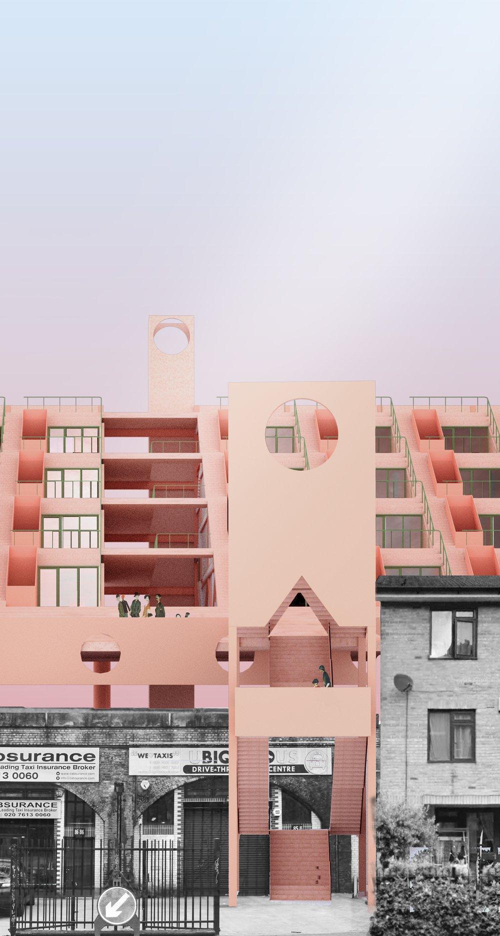 East Pass, Housing