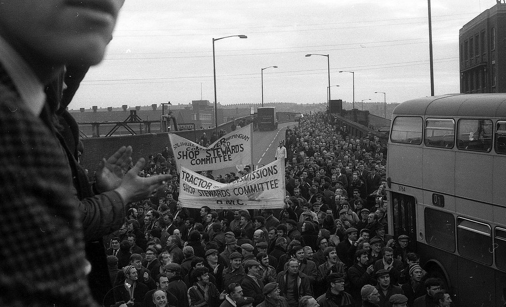 Saltley Gate, February 1972
