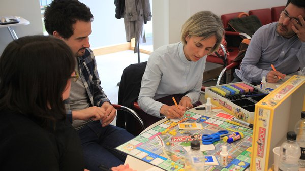 Graffitting board games workshop