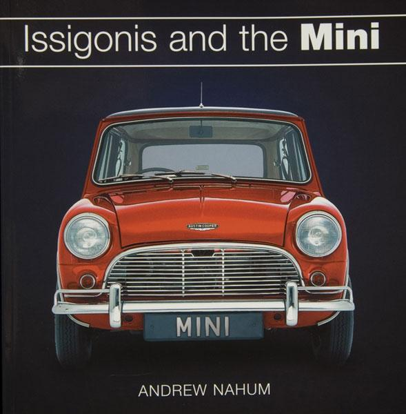 Paperback cover, Issigonis and the Mini