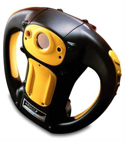 Argus3 Thermal Imaging Camera for e2v technologies. Used primarily in firefighter rescue. Winner of 7 international design awards and in the MoMa permanent collection