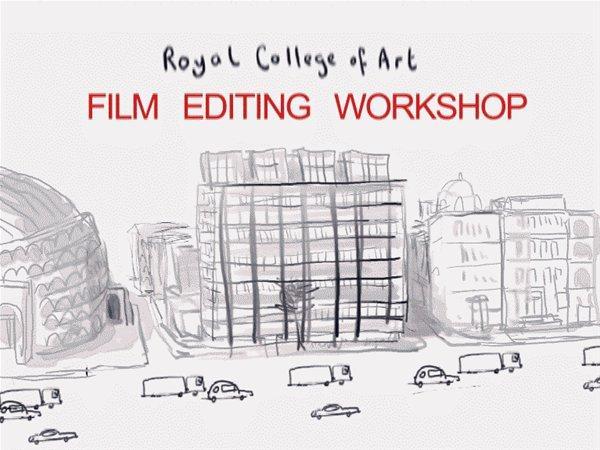 Royal College of Art Film Editing Workshop