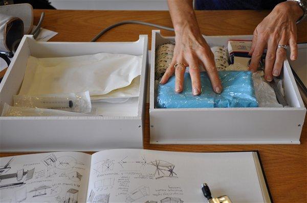 Evaluating drawer size