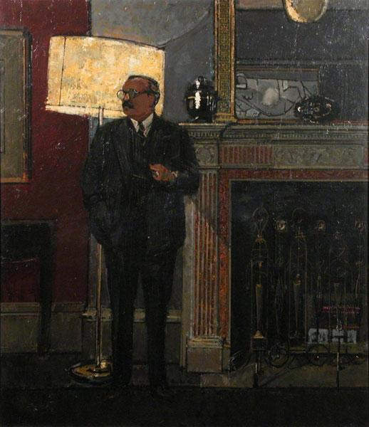Portrait of Sir Robin Darwin by Ruskin Spear (1961)
