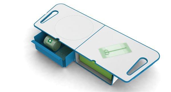 Rendered image of design prototype (open)