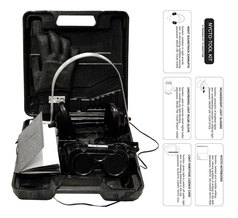 Nycto-tools: A Training Kit to Darkness
