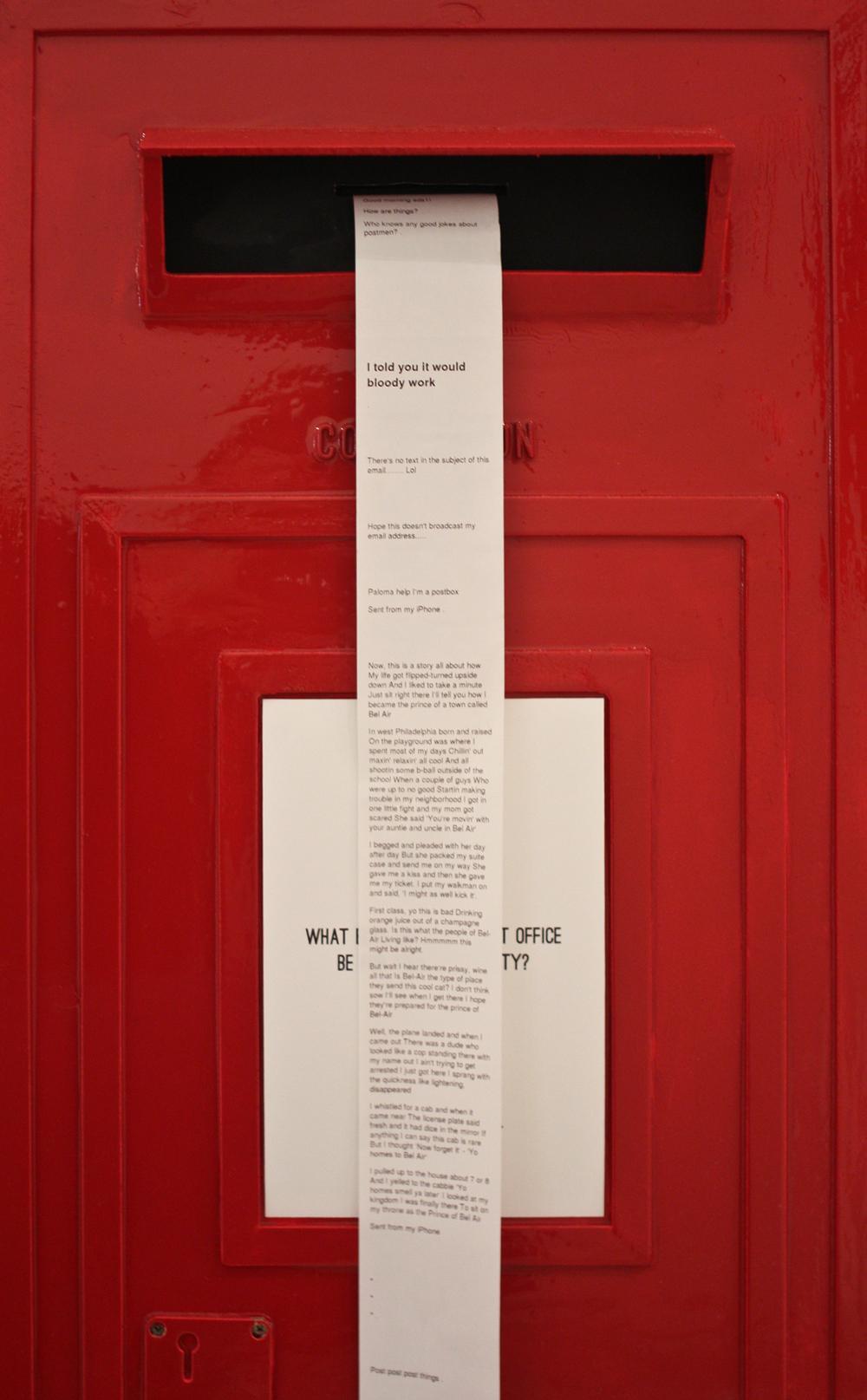 Participatory Postbox
