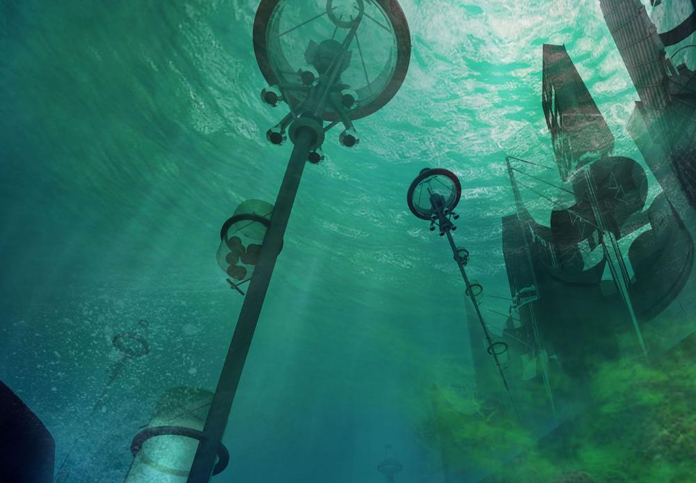 Cybernetic Linked Algal Buoy