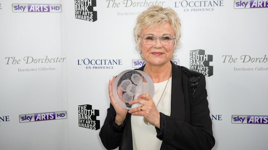 Julie Walters - Winner for Outstanding Achievement at this Year's South Bank Awards