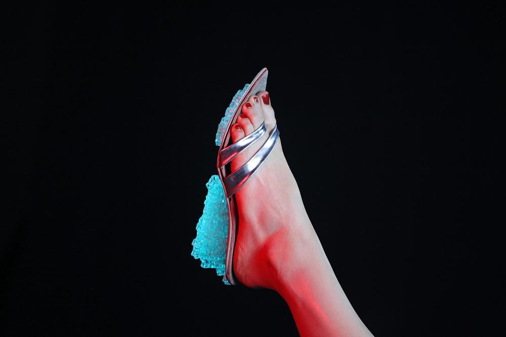 City Cinderellas - Concrete Flip-Flop