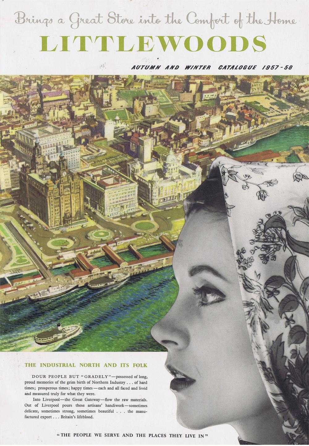 Littlewoods Autumn and Winter, 1957-58, Front Cover