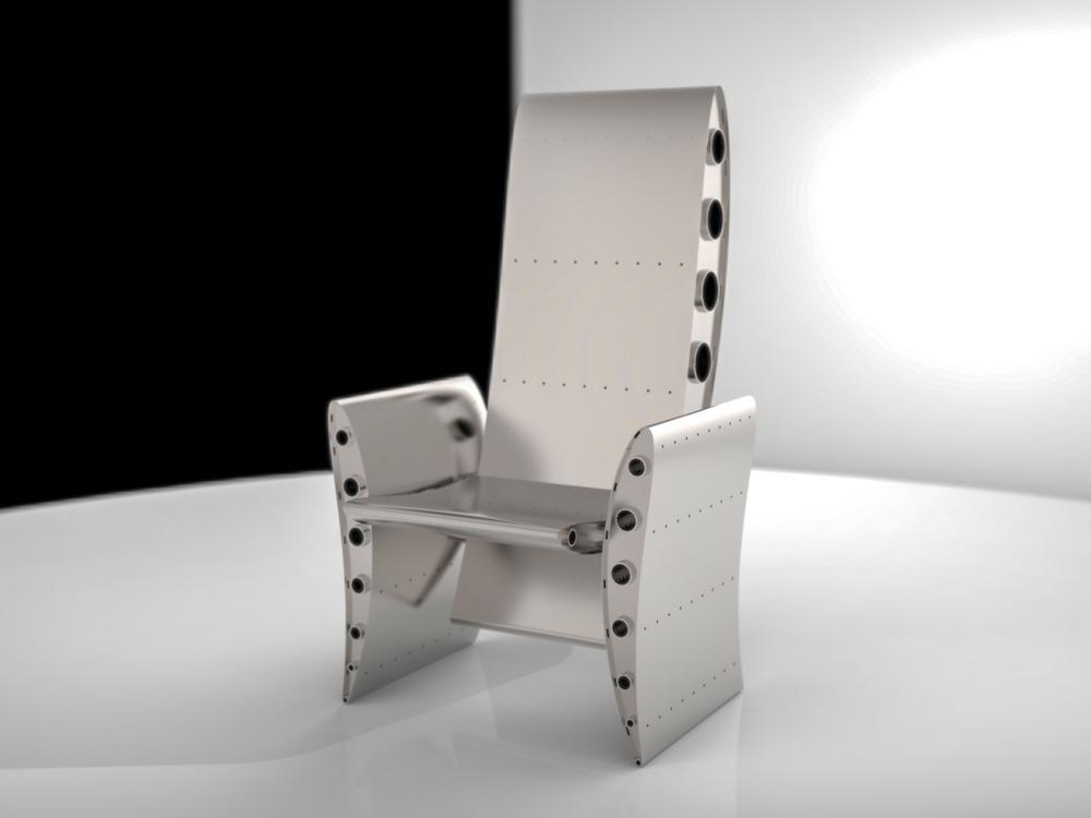 8512 Section Aerofoil Chair