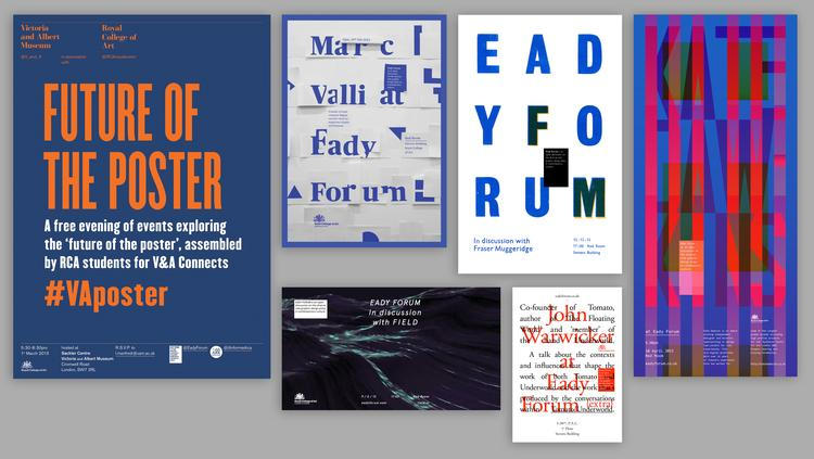 Selection of Eady Forum Posters