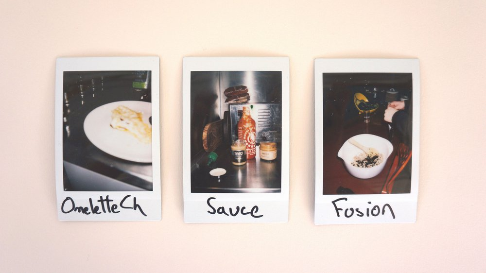 Photos taken by participants to illustrate their recipes