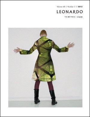 Cover of MIT Press 'Leonardo', volume 48, number 3