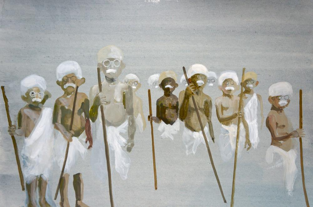 The Apostles Learn the Good Deeds of Those Who Came Before and After Them (Ghandi from The Twelve Apostles as Babies series)