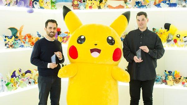 Amir Afshar and Jesse Cahn-Thompson receive Pokémon Scholarships