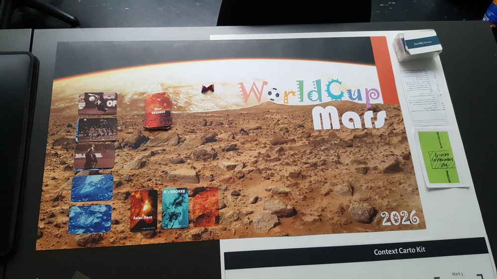 Mars Cup Game
