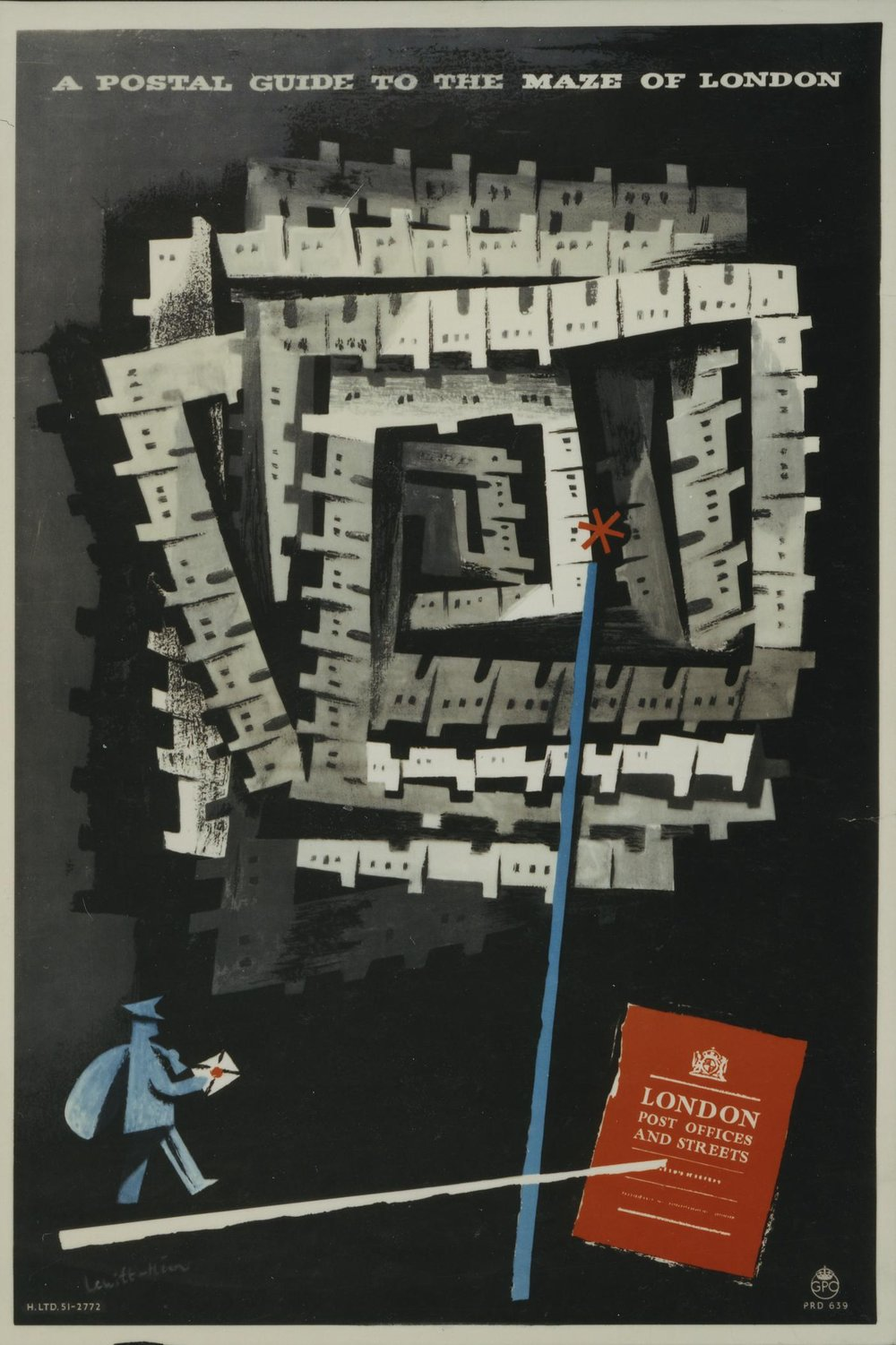 'A Postal Guide to the Maze of London' © Royal Mail Group Ltd 2013, courtesy of The British Postal Museum & Archive