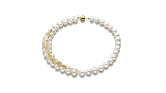 'Sliced Necklace' from the M/G TASAKI range