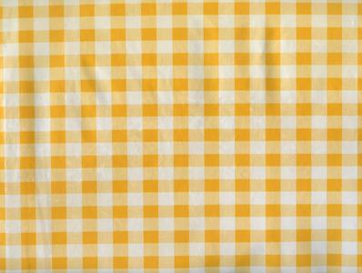jaune à carreaux