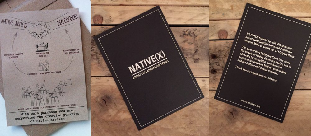 Native(X) Branded Insert Cards