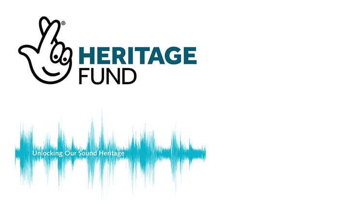 Supporter Logos: Unlocking Our Sound Heritage, The National Lottery Heritage Fund
