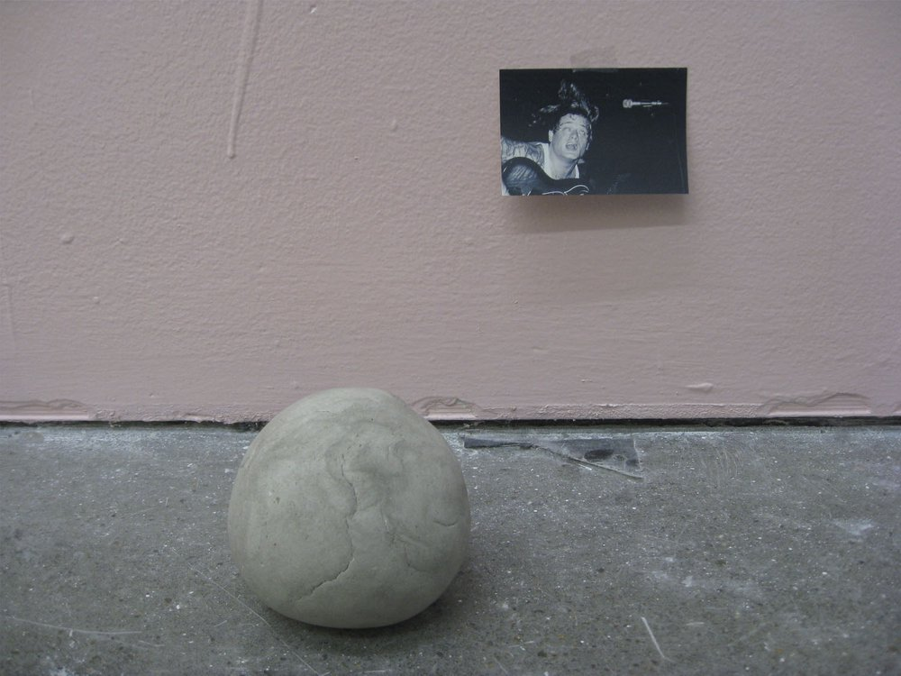 Studio shot showing: Pink Wall with Occasional Object (Paired Version)