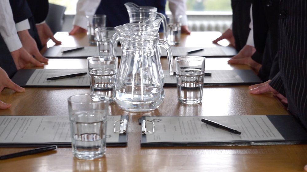 On Meetings: The Body at Work