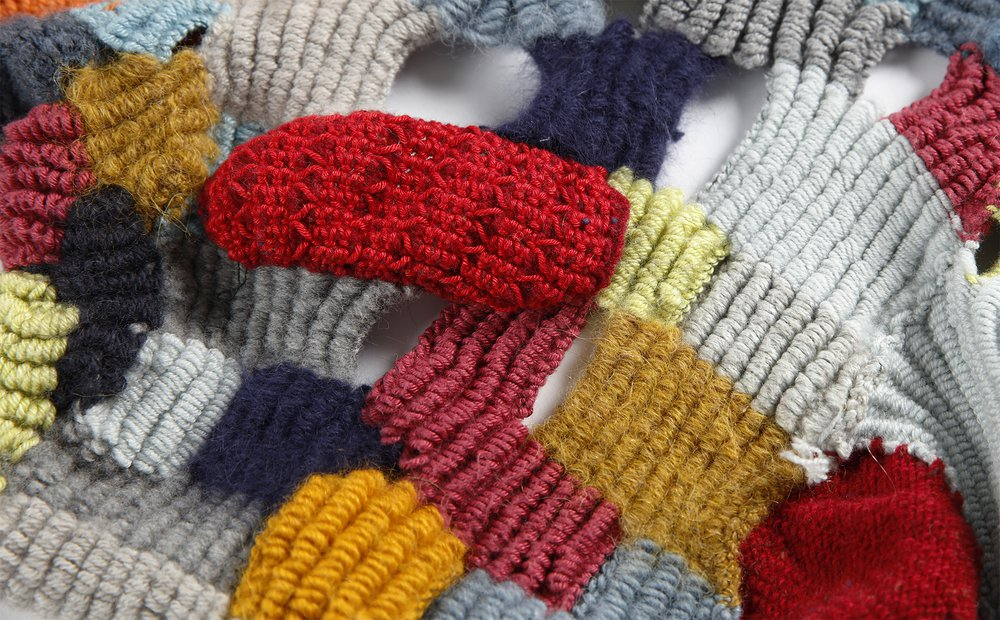 Knitting as painting