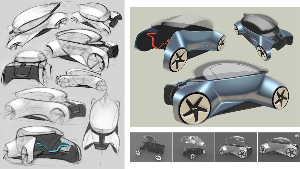 Sum of its Parts - Sketch Development
