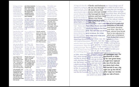 Sample page design, work in progress