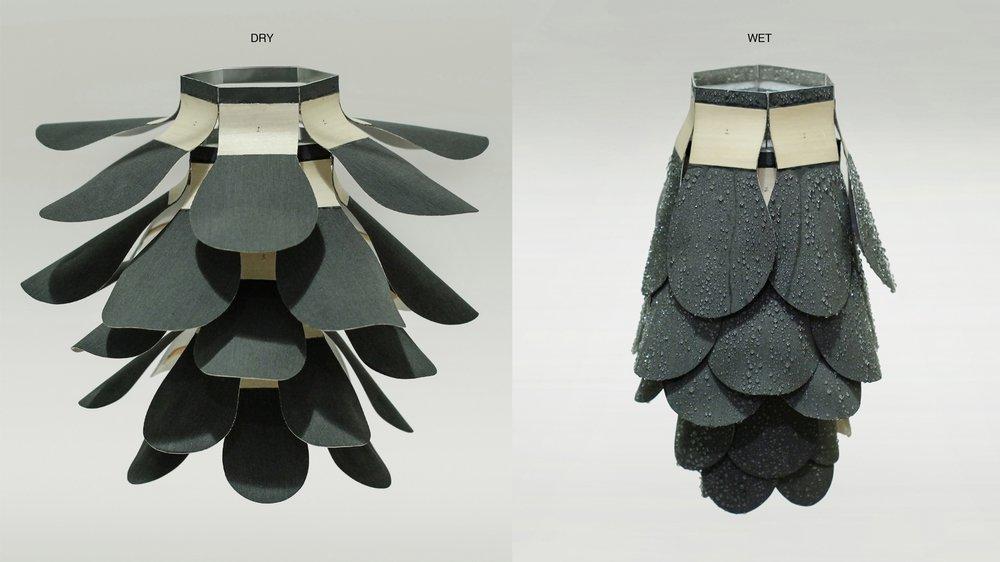 Artificial pine cone