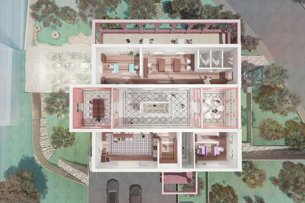 Floor two plan_Study/ meeting