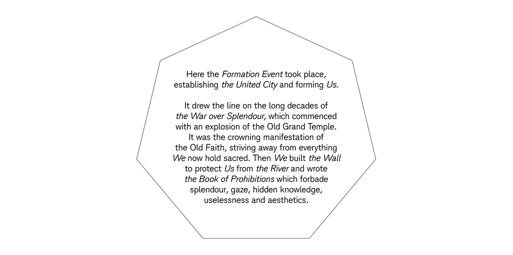 The Formation Plaque (from the Bookinprogress)
