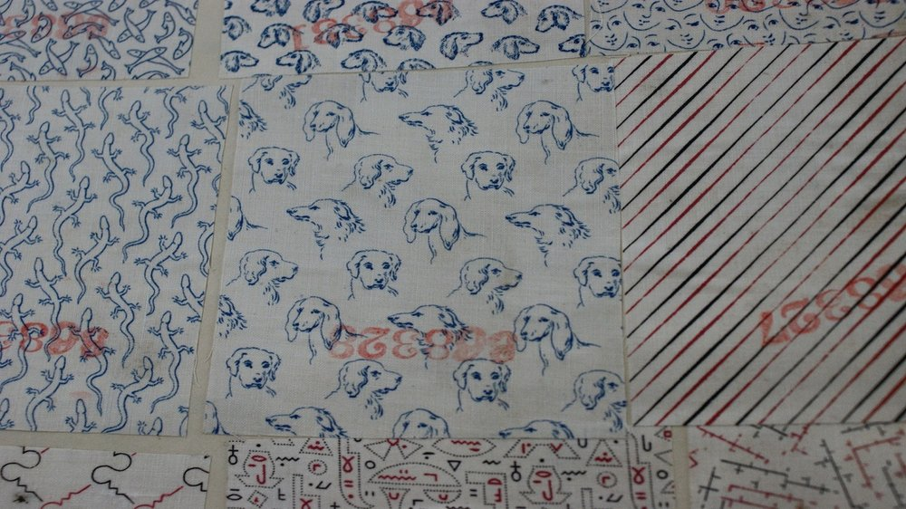 Textile Samples by Edmund Potter & Co., 1881, BT 43/340, The National Archives