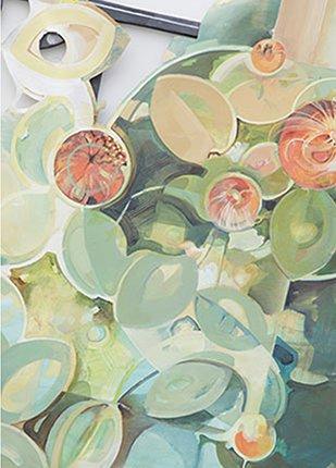 Fibonacci's Flower (Detail)