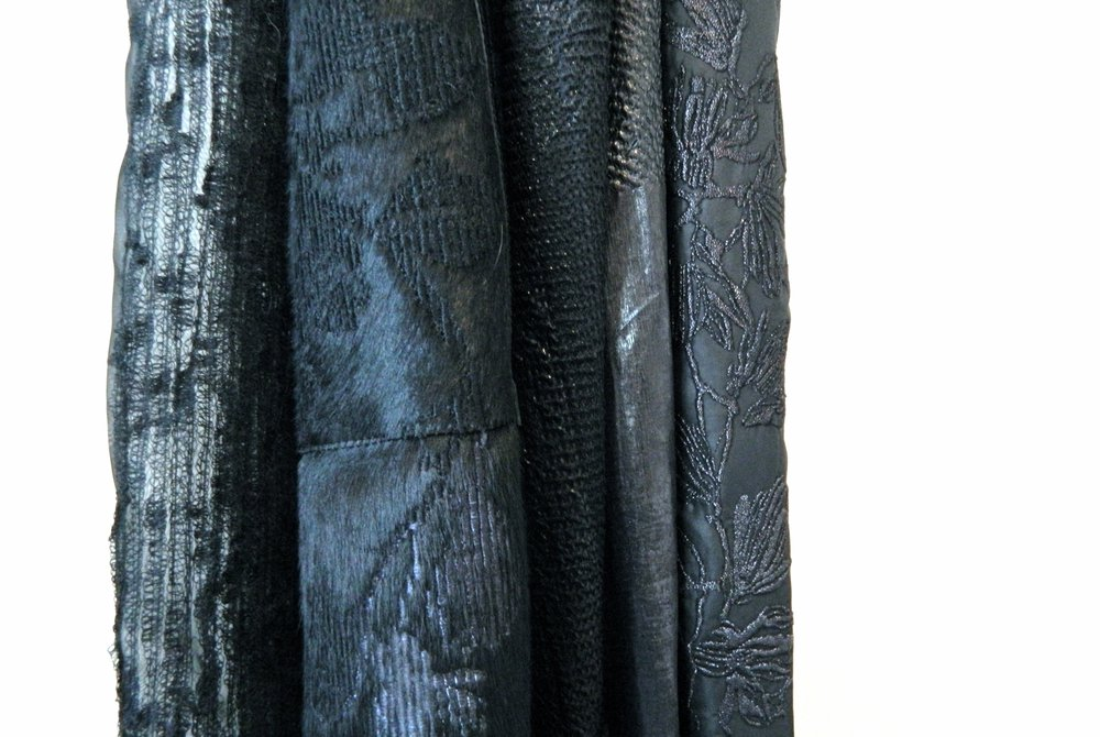 Fabrics from final collection