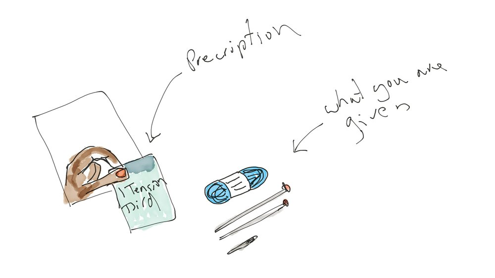 Drawing from storyboard - 'Prescription'