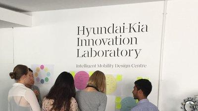 Project presentation in the IMDC Hyundai-Kia Innovation Lab