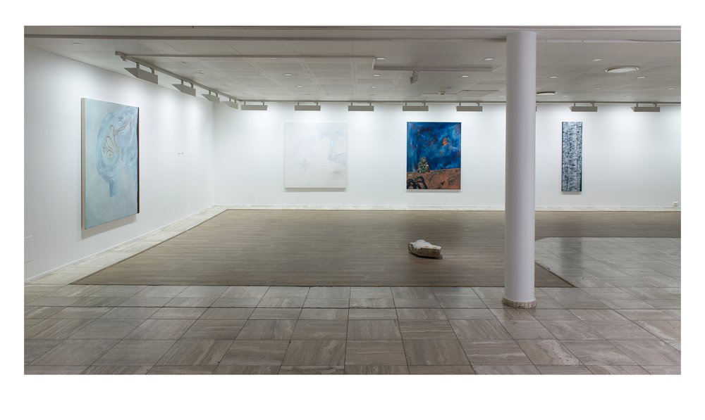 "Installation view ""Kunstprisen 2015"" Sandefjord Kunstforening"