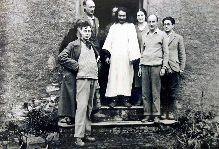 Meher Baba in East Challacombe, Devon