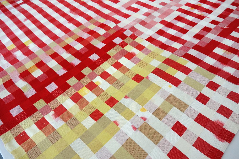 The Red Gingham Tablecloth