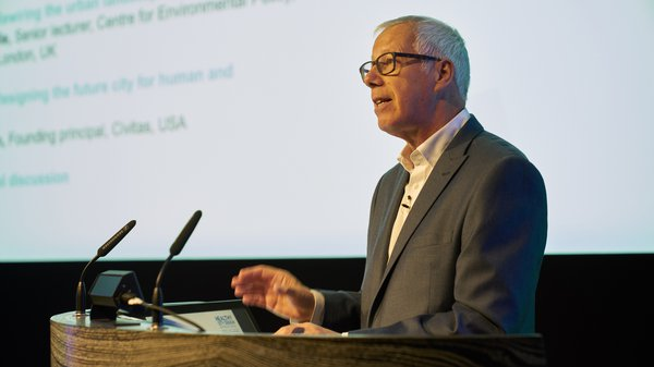 Professor Jeremy Myerson at Healthy City Design International Congress 2019