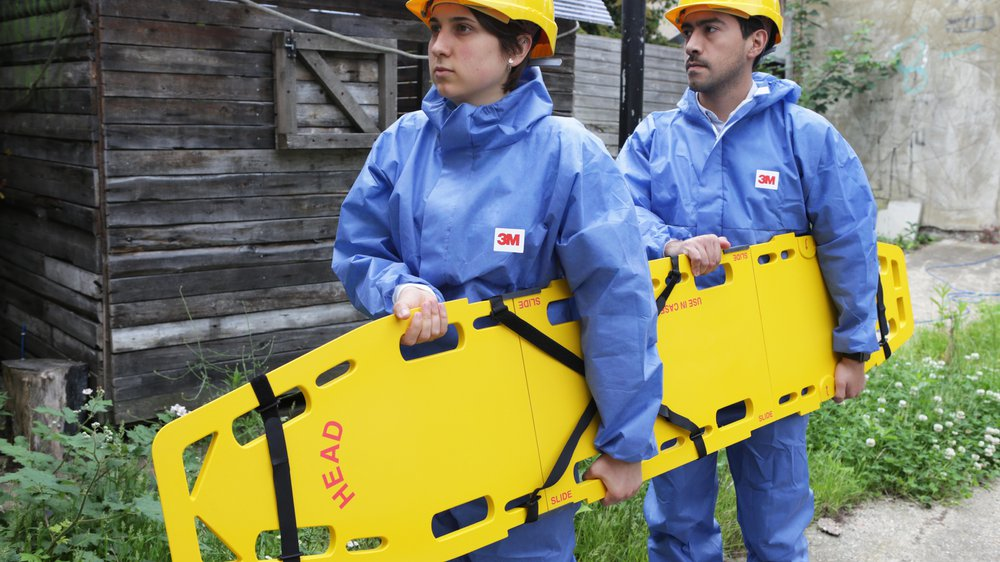 Collapsible Emergency Spinal Board